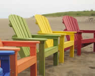 Relax on an Adirondack